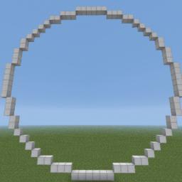 Minecraft-PE:建築基礎教學(三):直立圓形攻略