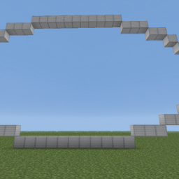 Minecraft-PE:建築基礎教學(四):直立橢圓形攻略