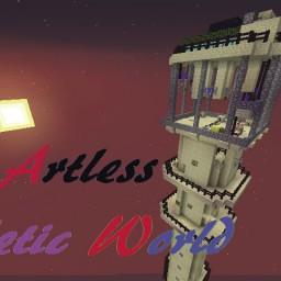 Minecraft-PE:跑酷地圖「Artless Athletic World」試玩
