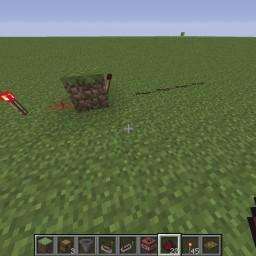 Minecraft-PE:紅石電路邏輯閘教學(一)NOT閘