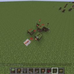 Minecraft-PE:紅石電路邏輯閘教學(六)XOR閘