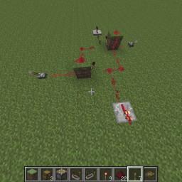 Minecraft-PE:紅石電路邏輯閘教學(final)