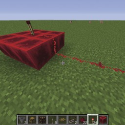 Minecraft-PE:紅石元件介紹(一):紅石、火把、紅石磚