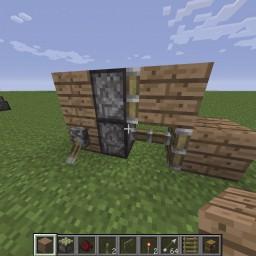 Minecraft-PE:紅石元件介紹(五)黏性活塞、投擲器、發射器、音階盒