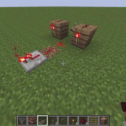 Minecraft-PE:紅石電路邏輯閘行前教學