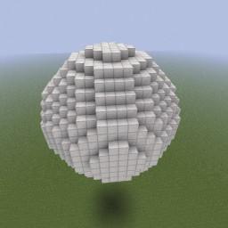 Minecraft-PE:建築基礎教學(五)圓球體攻略
