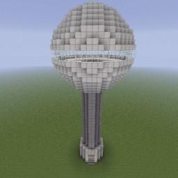 Minecraft-PE:建築進階教學(一)瞭望台攻略