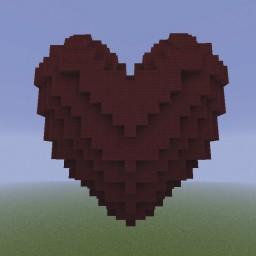 Minecraft-PE:建築進階教學(五)立體心形攻略