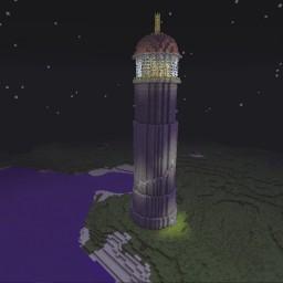 Minecraft-PE:建築進階教學(四)燈塔攻略