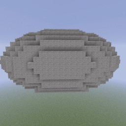 Minecraft-PE:建築基礎教學(六):橢圓球體攻略