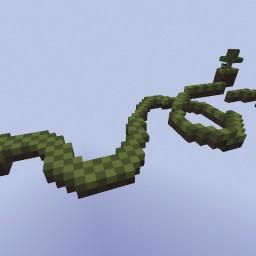 Minecraft-PE:跑酷地圖「迷你跑酷」試玩