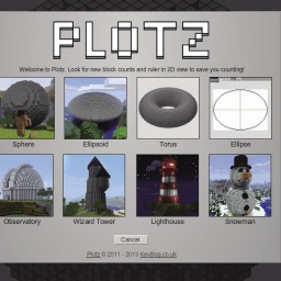 Minecraft-PE:好用的建築藍圖參考網站PLOTZ