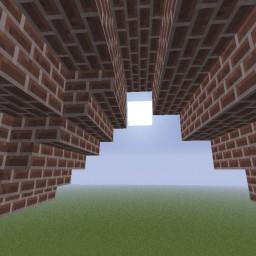 Minecraft-PE:建築進階教學(七) 屋頂內側修飾攻略