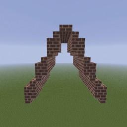 Minecraft-PE:建築進階教學(八)變更屋頂傾斜角度攻略