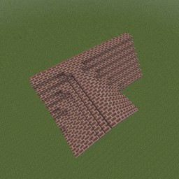 Minecraft-PE:建築進階教學(九)交錯式屋頂攻略