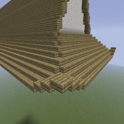 Minecraft-PE:建築進階教學(十三)飛簷攻略