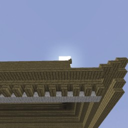 Minecraft-PE:建築進階教學(十六)簷椽攻略