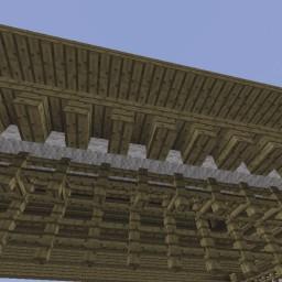 Minecraft-PE:建築進階教學(十七)斗拱攻略
