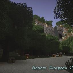 Minecraft-PE:跑酷地圖「Genzin Dungeon 2」試玩