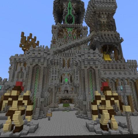 DIY建築比賽決賽作品1號:杜克萊爾城堡