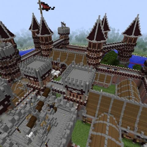 DIY建築比賽決賽作品2號:紅塵鐵騎堡