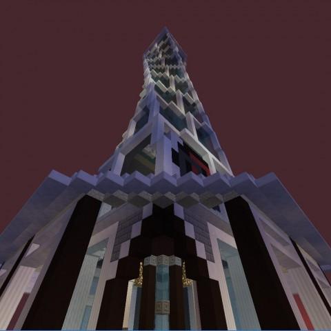 DIY建築比賽決賽作品7號:螺旋塔