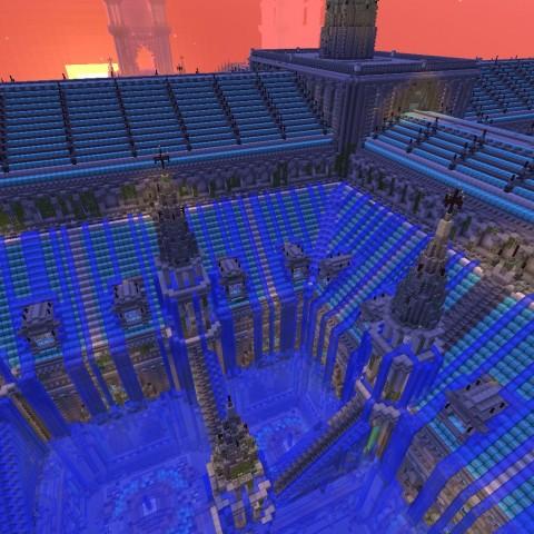 「Minecraft DIY建築比賽」決賽結果揭曉!冠軍得主:新月麗泉協會!