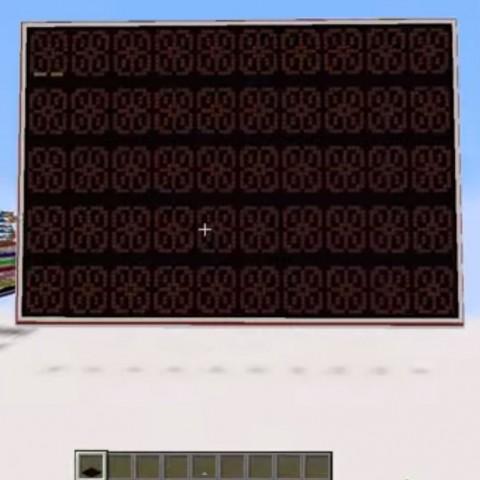 【Minecraft NEWS】花費2年打造的文字處理器!