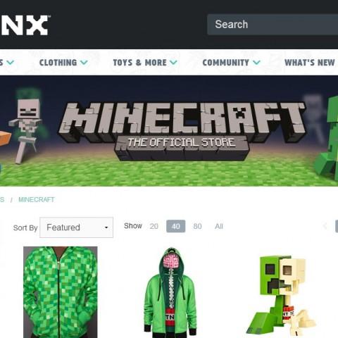 【Minecraft NEWS】美國潮牌推出Minecraft週邊商品