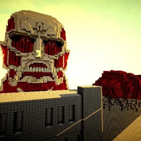 【Minecraft NEWS】用Minecraft打造巨人的世界!