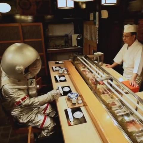 【funny game】到宇宙中找尋壽司的食材吧!