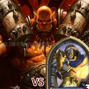 爐石戰記:排名模式牌組攻略-奴隸戰VS.聖騎士