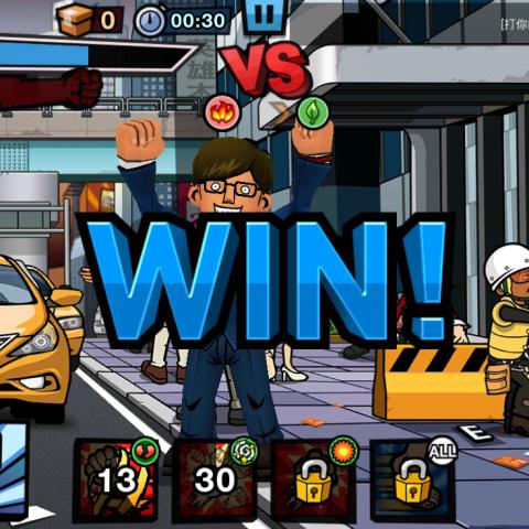 老闆別囂張:奇特畫風配KUSO台詞非常搭,很有創意的格鬥遊戲
