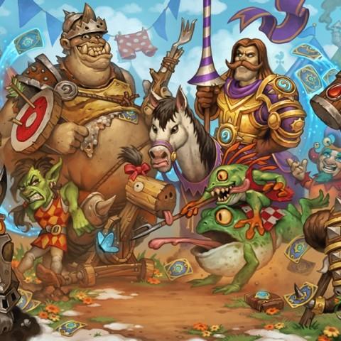 《銀白聯賽™》正式開打!《爐石戰記®:魔獸英雄傳™》第二部資料片帶來130張以上新卡片