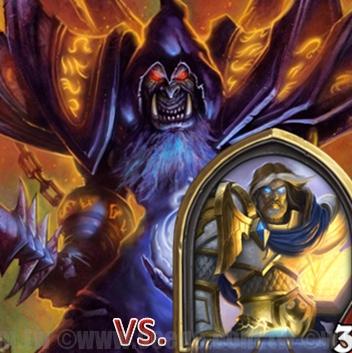 爐石戰記:排名模式牌組攻略-藍龍術VS.聖騎士