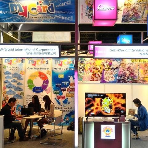 智冠集團2015東京電玩展登場,智樂堂最新手遊《霹靂傳奇》、《吾命騎士》全球首度曝光