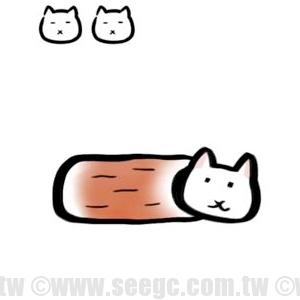 【funny game】可愛休閒小遊戲「竹輪貓」