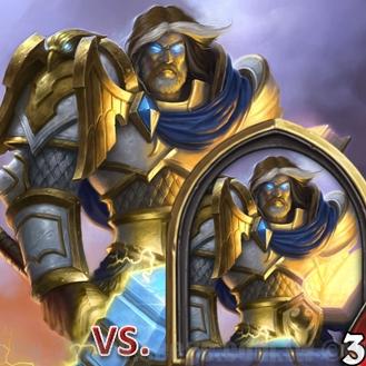 爐石戰記:排名模式牌組攻略-秘密聖VS.聖騎士