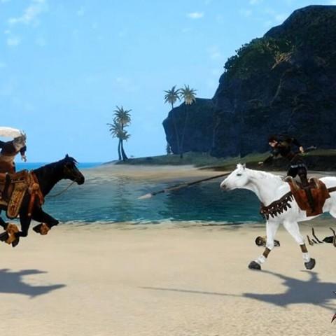 《刀劍2 Online》10/29「英雄鐵騎」驃悍改版,全新馬戰系統火熱開放!