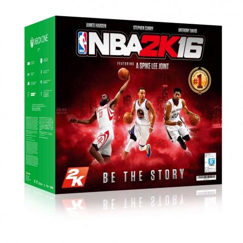台灣微軟將於10月23日推Xbox One單機版NBA 2K16同捆組