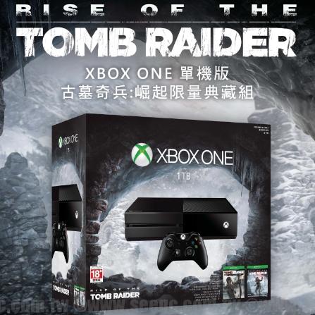 Xbox One 單機版《古墓奇兵:崛起》限量典藏組11/6上市,預購即日開跑。傳奇英雄將崛起