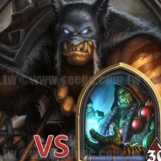 爐石戰記:排名模式牌組攻略-打臉獵VS.薩滿