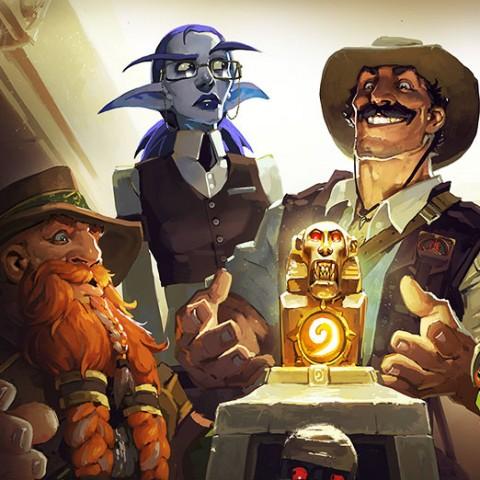 《爐石戰記○R:探險者協會TM》追隨布萊恩‧銅鬚前進「奧達曼」