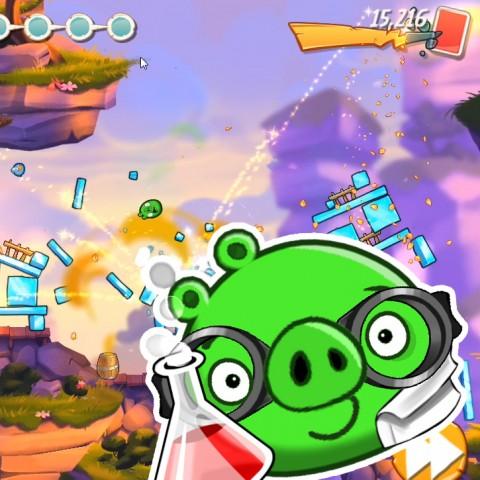 《憤怒鳥2》天降BOSS改版上線,全新藥劑豬活力登場