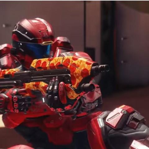 Halo 5《最後一戰5:守護者》2016年首次更新:Infinity's Armory(無盡號軍械庫)