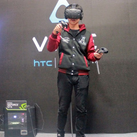 【2016TGS】刀劍神域的世界不遠了?新一代HTC VIVE PRE於台北電玩展強勢登台!