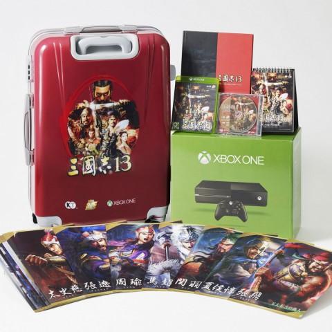 Xbox One單機版三國志13特典同捆組1/28限量上市,30週年慶王牌製作人鈴木亮浩訪台