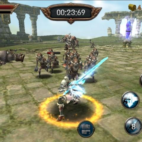 EvilBane 鋼鐵王者:讓你可以享受迫力滿點的戰鬥,收集裝備也有趣