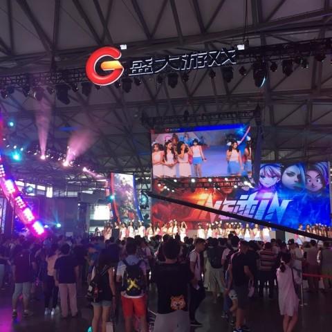 【2016ChinaJoy】盛大攤位遊戲報導