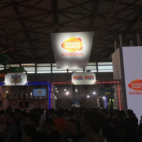 【2016ChinaJoy】萬代南夢宮上海攤位遊戲報導